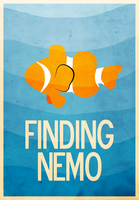 Finding Nemo Movie Poster by jxtutorials