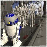 Droid Bowling by Ethakar