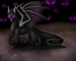 Ender dragon by xTechnologiic