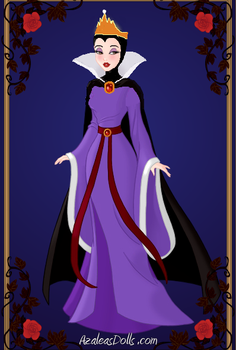 Snow White Evil Queen by menolikee