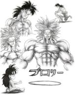 Burorii A.K.A. Broly by Laborde91