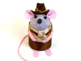 Walking Dead Rick Grimes Mouse by The-House-of-Mouse