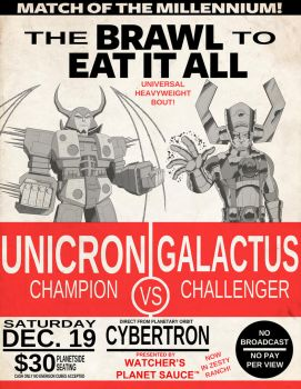 The Brawl to Eat it All by ShinGallon