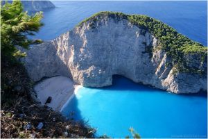 Above the Navagio by Jemiyah