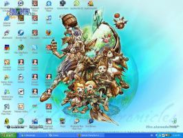 Crystal Chronicles Wallpaper by Hanako1993