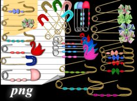 Safety Pins by roula33