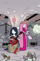 Marceline and the Scream Queens 4 variant cover by Tallychyck