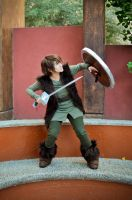 Hiccup fighting by Heavengreen