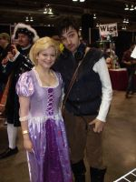 CCEE 2015 Rapunzel and Flynn by QTZephyr