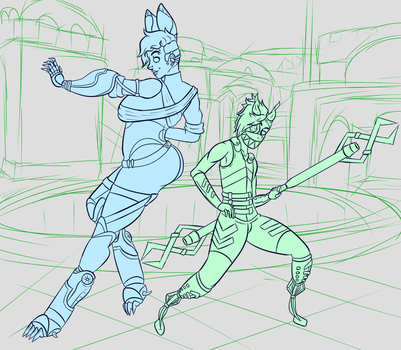 WIP: Defend The Point by GalaxyPuppy