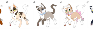 10 POINTS!!!Kitty Point Adopts Batch 9 OPEN by Akssel-Adopts