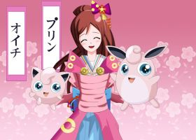 .: Oichi Jigglypuff and Wigglytuff :. by Sincity2100