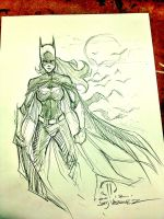 BAT GIRL MCBA Fall Con sketch by JoeyVazquez