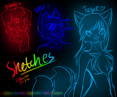Join.me sketches by Liara-Chan
