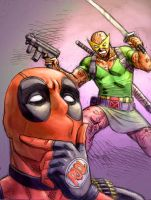 Deadpool feels pretty by ReillyBrown