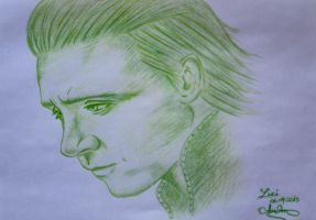 Loki - Green Pencil by case15