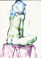 Watercolor #4 7/4 by JoeWierenga