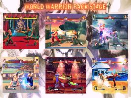 World Warrior Pack Stage by AlfStatuary