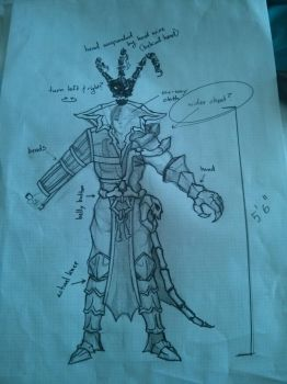 Thresh Cosplay Concept by Vahris