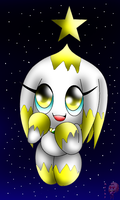 Star the chao by Kathy-the-echidna