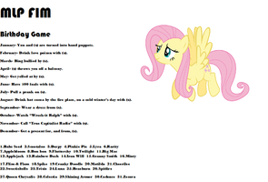 MLP FIM Birthday Game by KnightBrony3