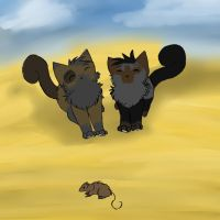Kittens ~ Hunting by Issy-Artist