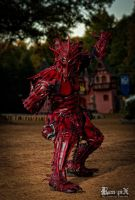 Dragon at Ren Fair by pepelpew