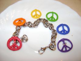 Peace in fimo.. by CheshireNene