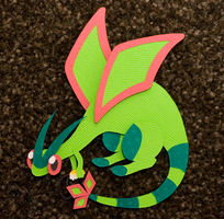 Flygon by PlaidCushion