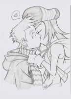 The World ends with a kiss by Aeolus06