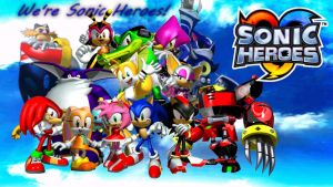 Sonic heroes background by infersaime