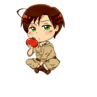 Hetalia- Chibi Romano by kitty614