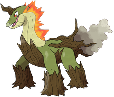 PokemonBWnet Fakemon Contest Entry 2 by JelloJolteon2000