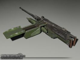 M2 Browning textured by senor-freebie