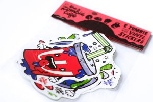 The Zombie Cafe Vinyl Stickers: Photo 2 by Hikero