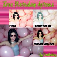 Three Photoshop Actions by CoolSabry