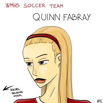 Glee - Quinn Fabray Soccer Ace by lectricity