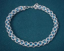 Chainmaille Necklace by ChevalierNoir