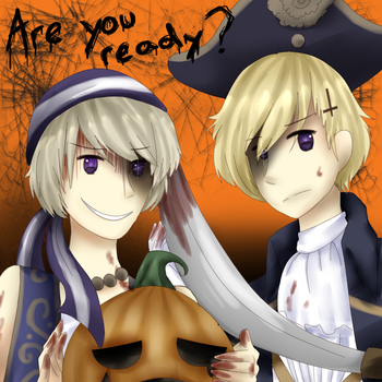 happy halloween I guess by PuffinBanshee