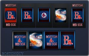 IPHONE RED SOX WALLS by bostonguy3737