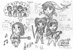 Chibi partyy! :D  My world~ by JuLyYang