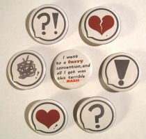 Say Something Buttons by ALRadeck