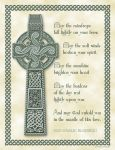 Celtic Cross and Blessing by JoyKodani