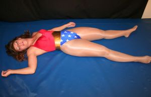 Wonder-Woman: Unconscious by sleeperkid