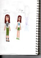 AT: Cosplaying TDI Characters by choco-latte-squirrel
