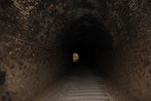 In the dark tunnel by rayna23