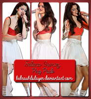 +Selena Gomez Png Pack 01 by kidrauhlslayer