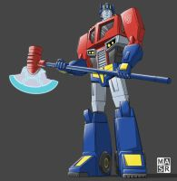 Animated Optimus Prime 2 by rattrap587