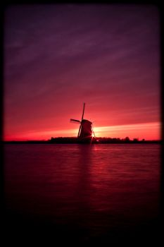 sunset mill 2 by GerbenT
