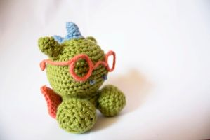 Dragon (available on Etsy) by stickfigures123